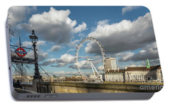 Victoria Embankment Portable Battery Charger by Adrian Evans