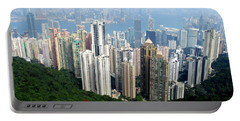 Portable Battery Charger featuring the photograph Victoria Peak 1 by Randall Weidner