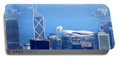 Portable Battery Charger featuring the photograph Victoria Peak 2 by Randall Weidner