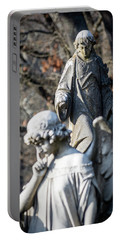 Victorian Angel Contemplating Portable Battery Charger
