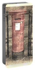 Victorian Red Post Box Portable Battery Charger