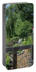 Victory Garden Lot And Willow Tree, Boston, Massachusetts  -30958 Portable Battery Charger