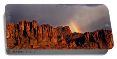Portable Battery Charger featuring the photograph Victory In The Storm by Rick Furmanek