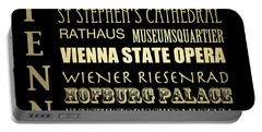 Vienna Austria Famous Landmarks Portable Battery Charger