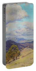 View Across The Kanimbla Valley Australia Portable Battery Charger