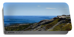 View From Cadillac Mountain Portable Battery Charger