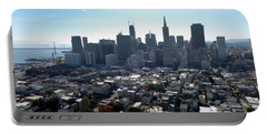 View From Coit Tower Portable Battery Charger by Steven Spak
