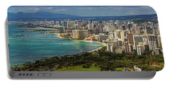 View From Diamond Head Portable Battery Charger
