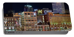 Portable Battery Charger featuring the photograph View From Gateway by Frozen in Time Fine Art Photography