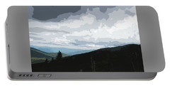 View From Mount Washington II Portable Battery Charger by Suzanne Gaff