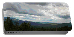 View From Mount Washington IIi Portable Battery Charger by Suzanne Gaff