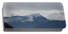 View From My Art Studio - Stanserhorn - March 2018 Portable Battery Charger