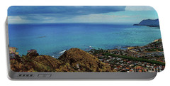 View From Pillbox Portable Battery Charger
