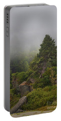 View From The Beach Portable Battery Charger by Mark Alder