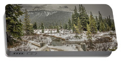 Portable Battery Charger featuring the photograph View From The Bridge by Bill Howard