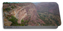View From The Top Portable Battery Charger by Anne Rodkin