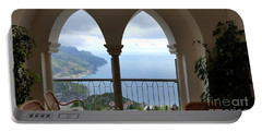 View Of Amalfi Coast Portable Battery Charger