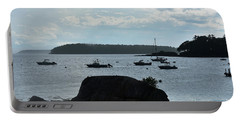 View Of Bustin's Island Harbor Portable Battery Charger