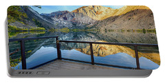 View Of Convict Lake Portable Battery Charger