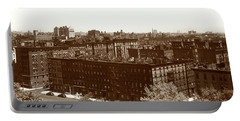 View Of Harlem In 1950 Portable Battery Charger