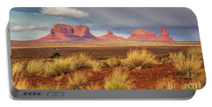 View Of Monument Valley Portable Battery Charger