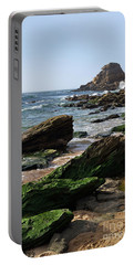 View Of Santa Rita Beach In Torres Vedras Portable Battery Charger