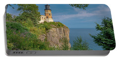 View Of Split Rock Lighthouse Portable Battery Charger