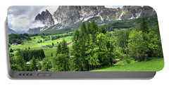 View Of The Dolomites Portable Battery Charger