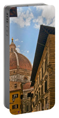 View Of The Duomo Portable Battery Charger