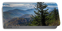 View Of The Great Smoky Mountains Portable Battery Charger