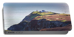 View Of The Trails On Howth Cliffs And Howth Head In Ireland Portable Battery Charger by Semmick Photo