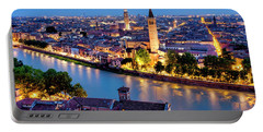 Portable Battery Charger featuring the photograph View Of Verona by Fabrizio Troiani
