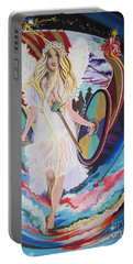 Viking Goddess Arrives In Egypt Portable Battery Charger