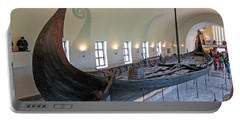 Viking Ship Portable Battery Charger by Allan Levin