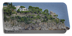 Villa Owned By Sophia Loren On The Amalfi Coast In Italy Portable Battery Charger by Richard Rosenshein