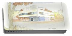 Villa Savoye Le Corbusier Portable Battery Charger