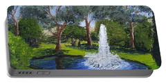 Village Fountain Portable Battery Charger