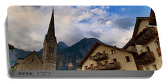 Portable Battery Charger featuring the photograph Village Hallstatt by Jacqueline Faust