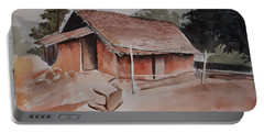 Village Hut Portable Battery Charger