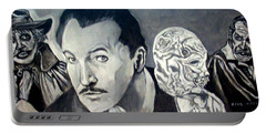 Vincent Price Portable Battery Charger by Paul Weerasekera