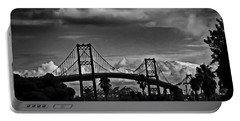 Portable Battery Charger featuring the photograph Vincent Thomas Bridge by Joseph Hollingsworth