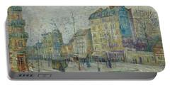Vincent Van Gogh  The Boulevard De Clichy, Paris Portable Battery Charger