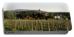 Vineyard In Austria Portable Battery Charger