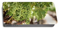 Portable Battery Charger featuring the photograph Wine Vineyard Of St. Helena - Grapevine Napa Valley Photography by Melanie Alexandra Price