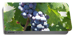 Vino On The Way Portable Battery Charger by Pamela Walrath