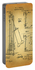 Vintage 1885 Exercising Device Patent Portable Battery Charger by Dan Sproul