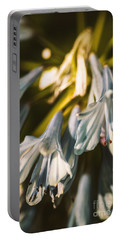 Vintage Agapanthus Flower Portable Battery Charger by Jorgo Photography - Wall Art Gallery