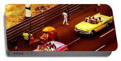 Vintage American Cars In Havana  Portable Battery Charger