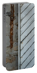 Vintage Barn Door And Strap Portable Battery Charger