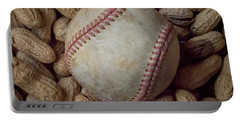 Vintage Baseball And Peanuts Square Portable Battery Charger